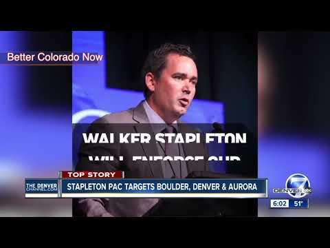 Stapleton PAC targets Boulder, Denver and Aurora