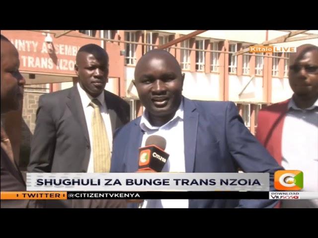 Shughuli za bunge Trans Nzoia
