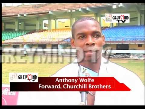 Churchill Brothers' World Cupper Anthony Wolfe predicts India's WC participation..