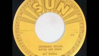 Ray Harris Greenback Dollar Watch & Chain