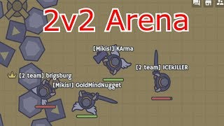 Moomoo.io - TOURNAMENT ARENA gameplay ft GMN clan