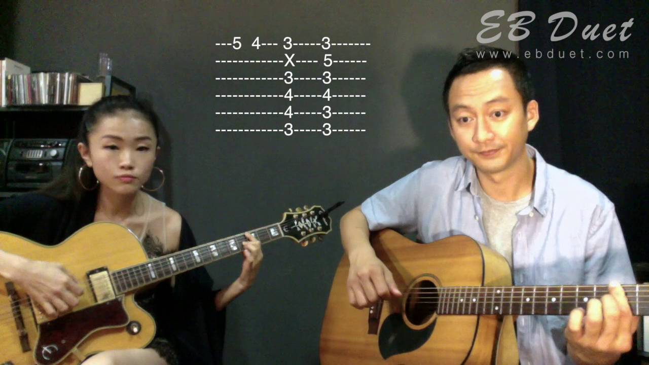 Eb Duet Getaran Jiwa Guitar Tutorial Youtube