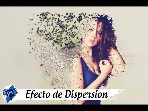 Como crear efecto dispersion - How to create dispersion effect | Photoshop Tutorial