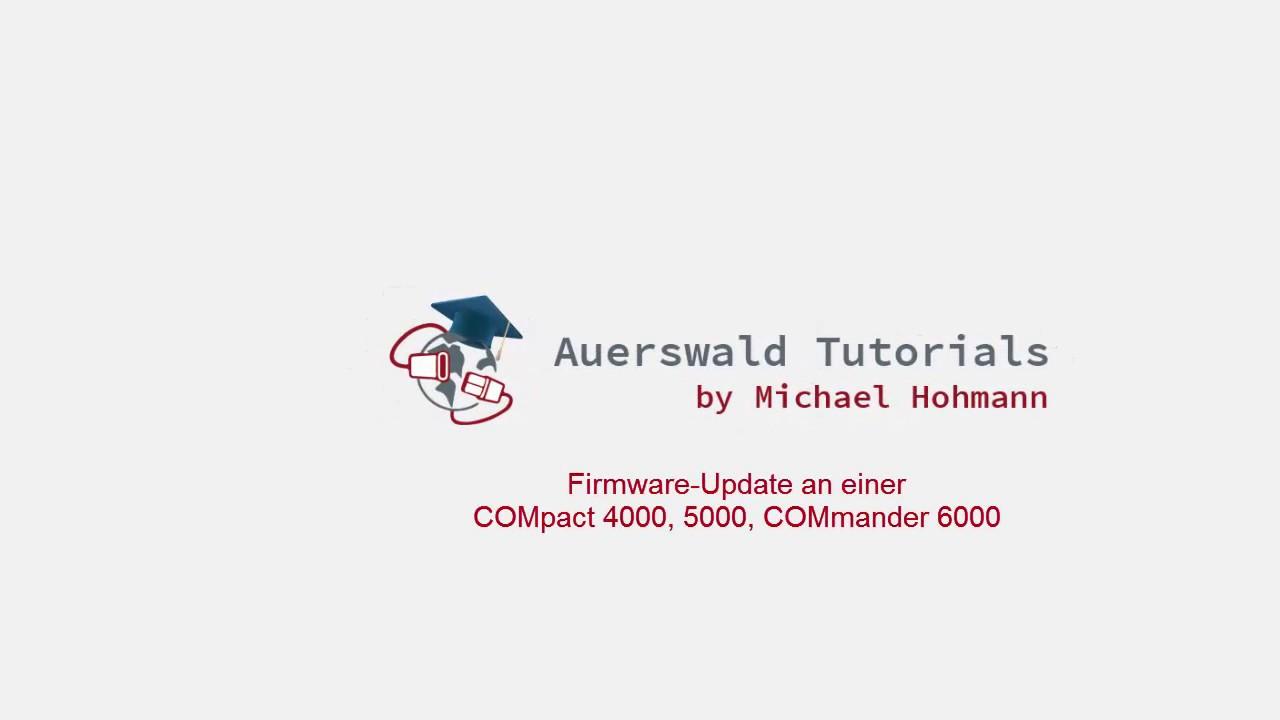 COMpact 4000 Firmware-Update