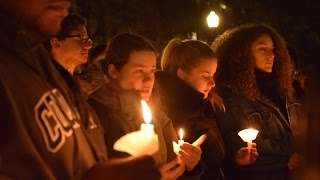 Columbia University Students Put on Candlelight Vigil for the World: PEACE BY PIECE