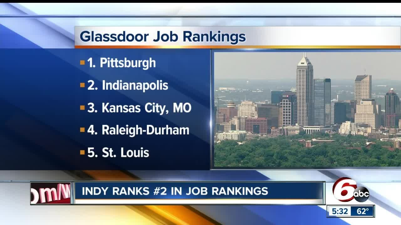 Indianapolis Named No 2 City In Country For Jobs Youtube
