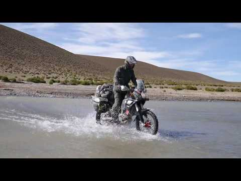 CCM GP450 Motorbike Military Expedition | South America to The Arctic Circle
