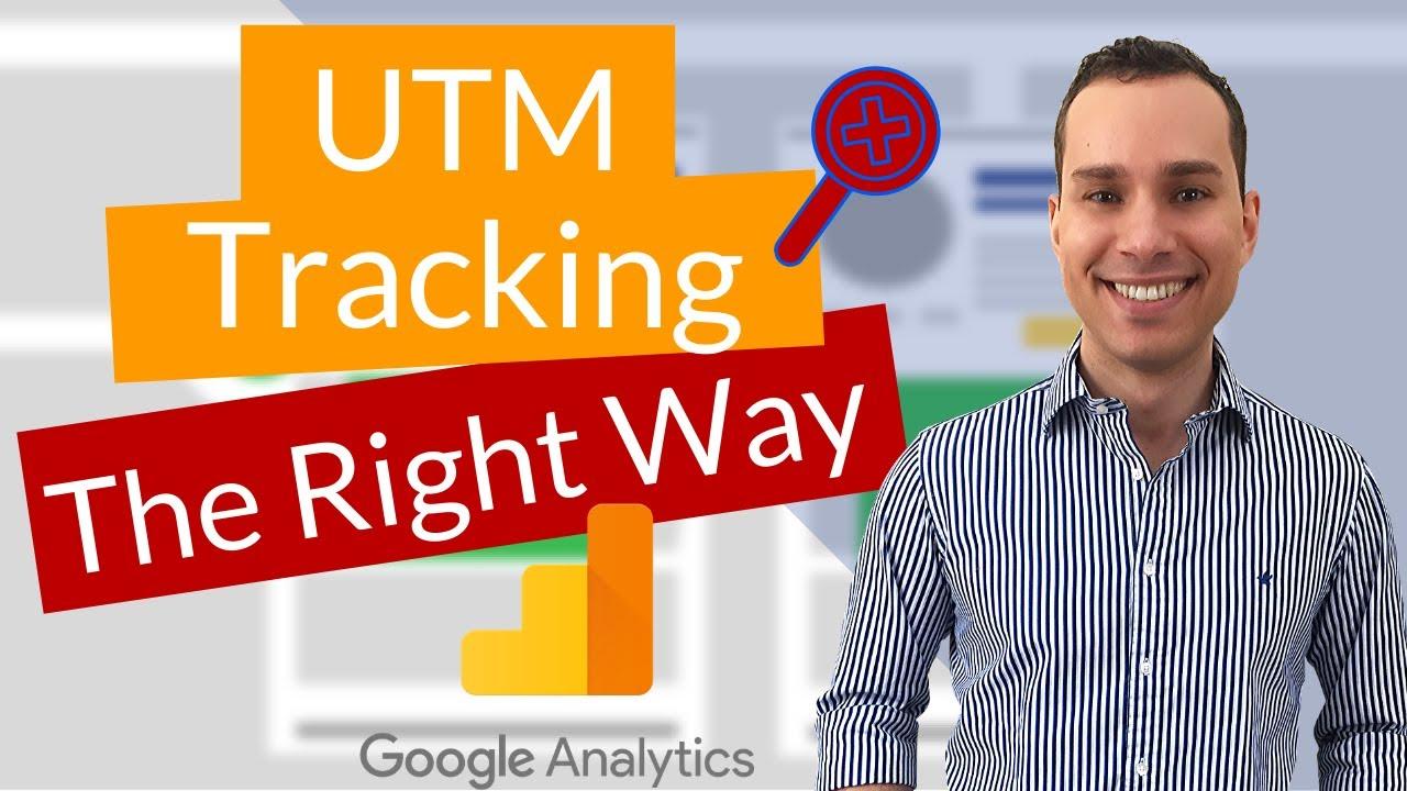 Google Analytics UTM Tracking Tutorial For Beginners (UTM Template)