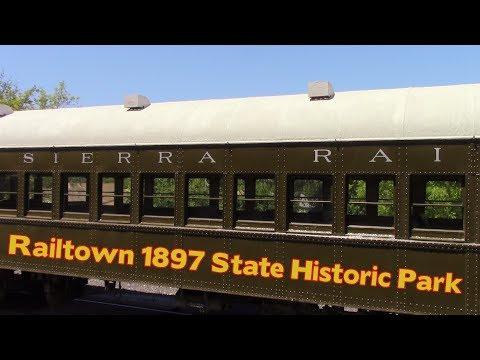 Railtown 1897 State Historic Park -  Jamestown CA