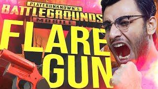 PUBG MOBILE LIVE: FLARE GUN DROP HUNTINGS | NEW UPDATE | RAWKNEE