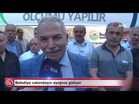 Belediye vatandaşın ayağına gidiyor   Samsun ve Haber
