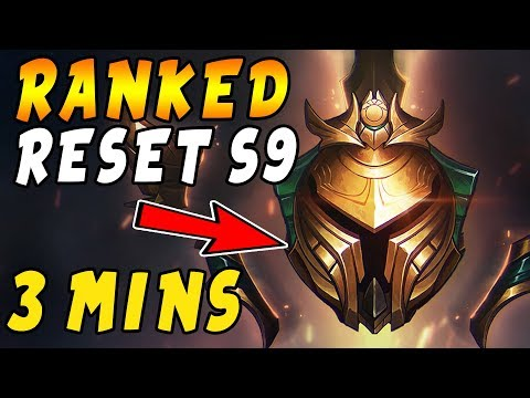 3 Minute Summary - Season 9 RANKED LADDER IS GETTING RESET! All You Need to Know