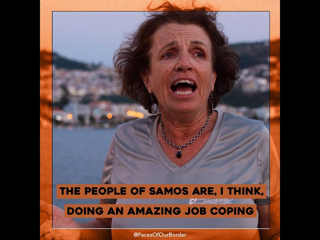 Featurette - Dr. Lynne Jones - Samos - The Faces of our Border