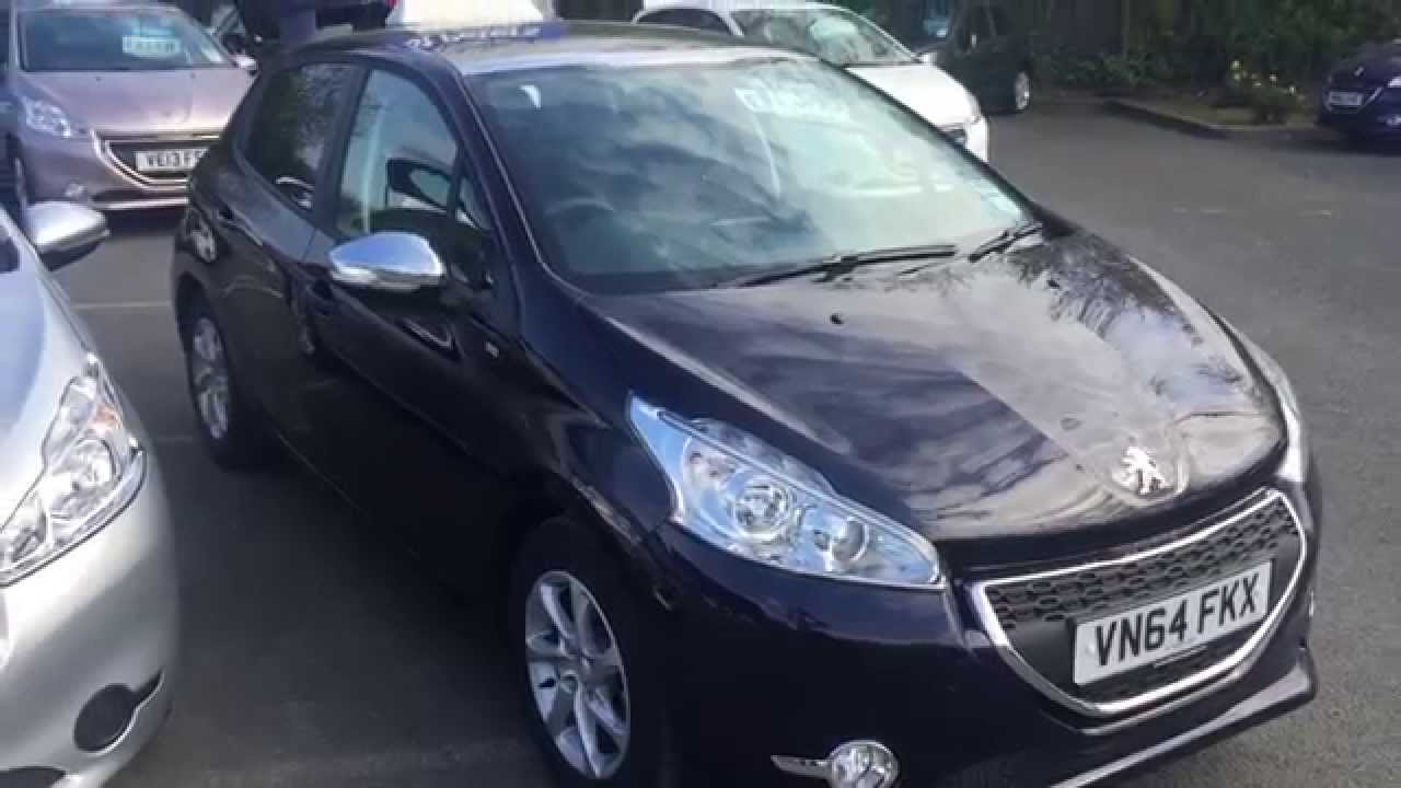 2014 peugeot 208 5 door 1 2 vti puretech 82 style vn64 fkx at st peters peugeot worcester youtube. Black Bedroom Furniture Sets. Home Design Ideas