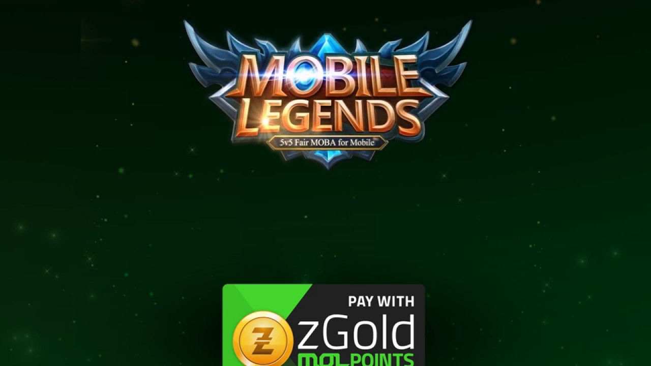 Mobile Legends: Top-up with zGold-MOLPoints