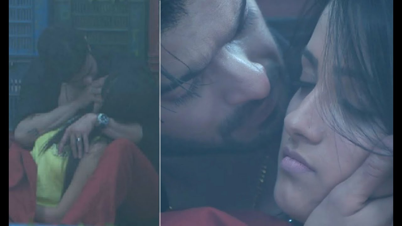 Image result for raman and shagun kiss