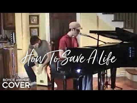 The Fray - How To Save A Life (Boyce Avenue piano acoustic cover) on ...