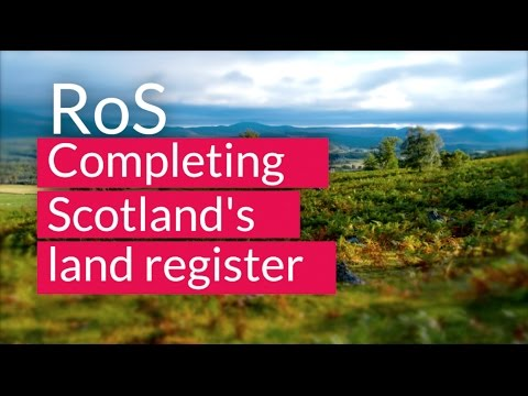 Completing Scotland's land register | Registers of Scotland