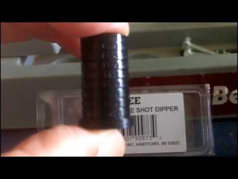 Lee Precision Reloading Adjustable Shot Dipper 90973