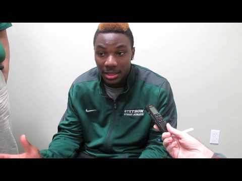 Football Spring Game - Donald Payne Interview