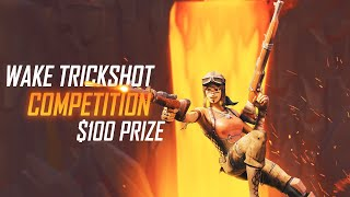 100$ FORTNITE TRICKSHOT COMPETITION | #WakeTrickshot | Map Code: 9226-5996-0082