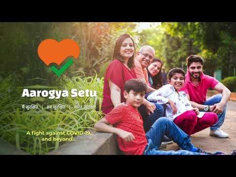 Aarogya Setu contra COVID-19