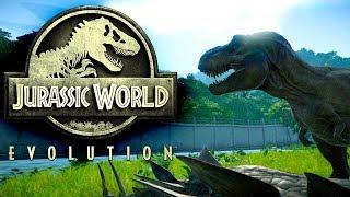 Jurassic World Evolution #043 | Ceratosaurus vs. T-Rex | Gameplay German Deutsch thumbnail