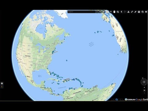 View Subsea Cable Landings Around the World