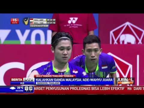 Ganda Putra Indonesia Berhasil Juarai Thailand Terbuka 2015