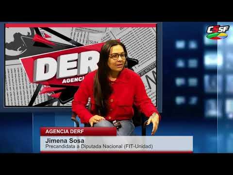 Jimena Sosa: Somos los únicos que proponemos romper con el FMI