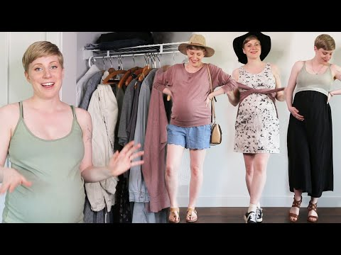 Get Dressed with Me! [Pregnant] - Outfits for 3 Different Types of Days
