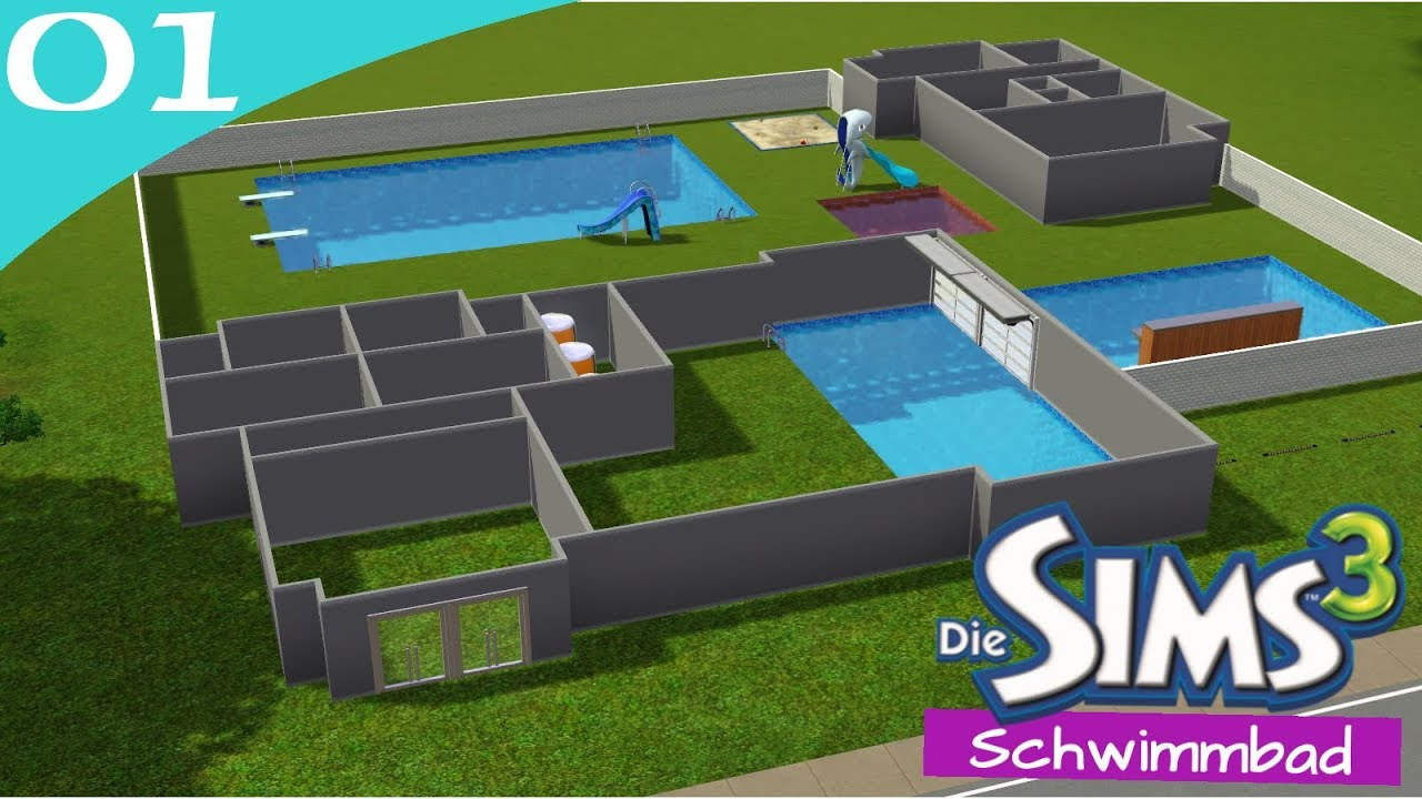 Hausbau Reihe 6 01: Schwimmbad [Letu0027s Build Sims 3 Haus]