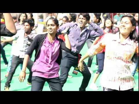 Flash mob at KGI Bangalore