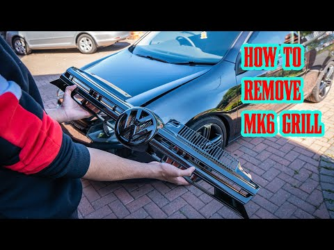 How To Remove Vw Golf Mk6 Front Grill