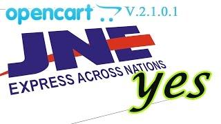 JNE YES Untuk Opencart V2.1.0.1