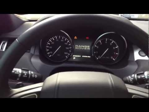 RR Evoque Service Required Message Reset How To Video