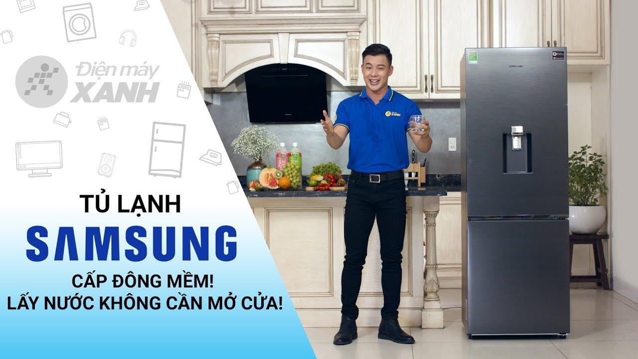 Tủ lạnh Samsung 307 lít: cấp đông mềm, ngăn đá dưới, có Inverter (RB30N4180B1/SV)   Điện máy XANH