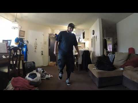 Drum and bass dance DnB step