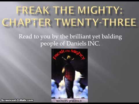 Freak the Mighty chapter 23