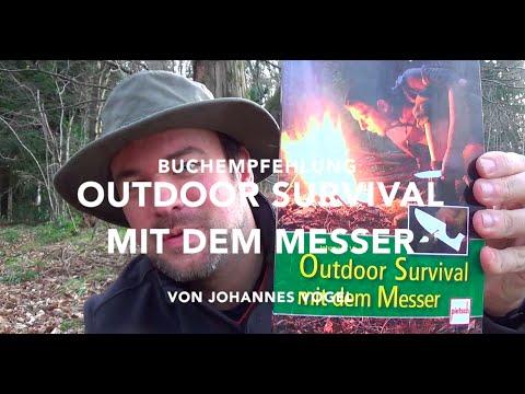 Buchempfehlung: Outdoor Survival mit dem Messer von Johannes Vogel.