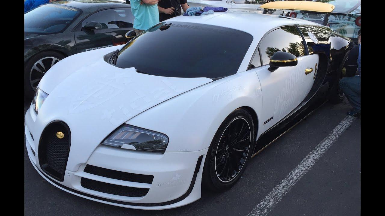 gold rush rally 8 bugatti veyron salt lake city ut 2016 part i - Bugatti 2016 Gold