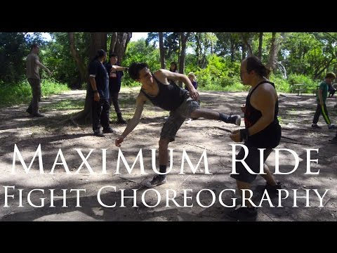 MAXIMUM RIDE: Fight Choreography BTS