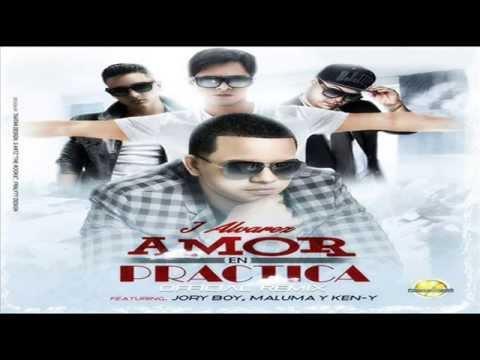 Amor En Practica (Remix) - J Alvarez Ft Jory, Maluma y Ken-Y (Video Music) ROMANTICO 2014