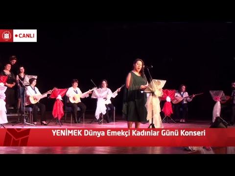 YENİMEK Dünya Emekçi Kadınlar Günü Konserimiz