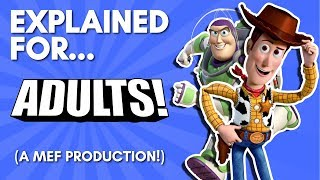Toy Story Explained For Adults! (A Comedic Commentary!)