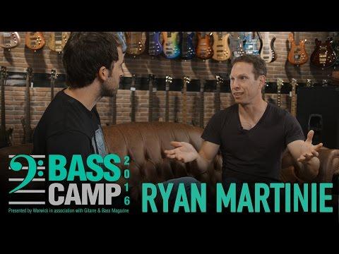 Bass Camp 2016 Interviews - RYAN MARTINIE (Mudvayne & Soften The Glare)