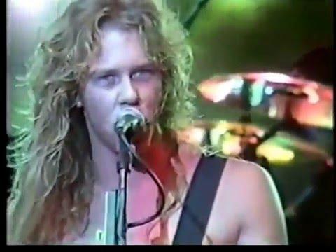 Metallica - Am I Evil? (Diamond Head cover) (Metal Hammer Festival 1985 )