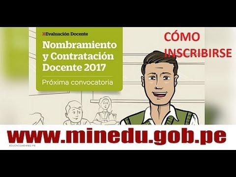 C mo inscribirse al concurso de nombramiento docente 2017 for Concurso docente 2017