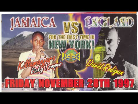 Legendary Killamanjaro Vs David Rodigan 1997