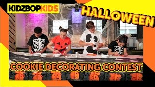 KIDZ BOP Kids - Halloween Cookie Decorating Contest
